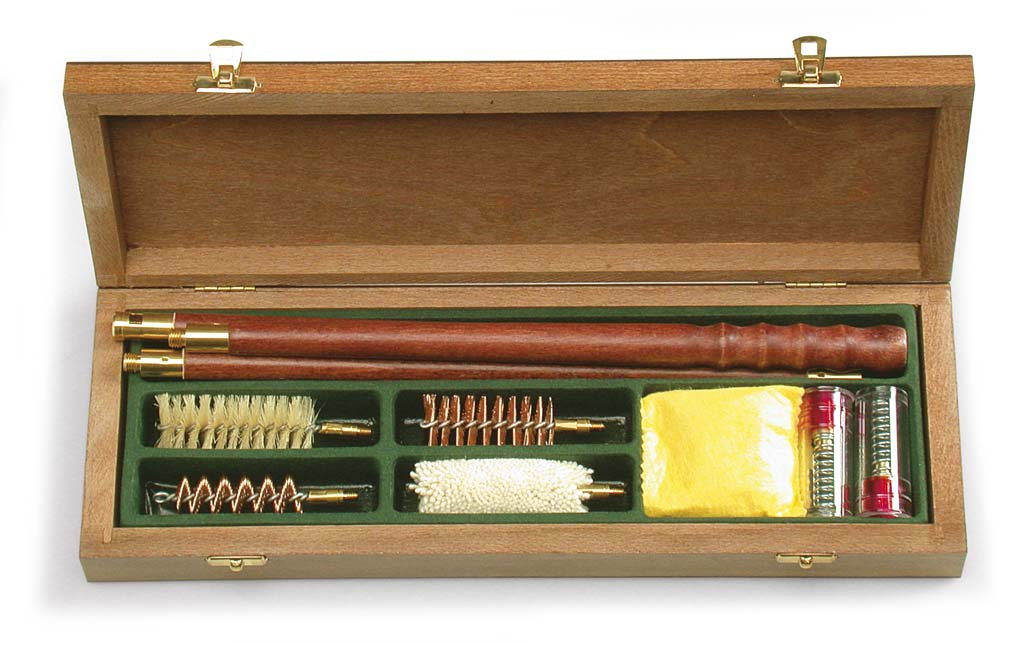 Open Season 12 Gauge Complete Shotgun Cleaning Kit in Wooden Case