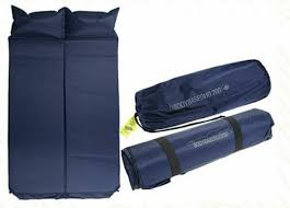Self-Inflating Double Camping Airbed/Mattress - BodyBase Duo 200