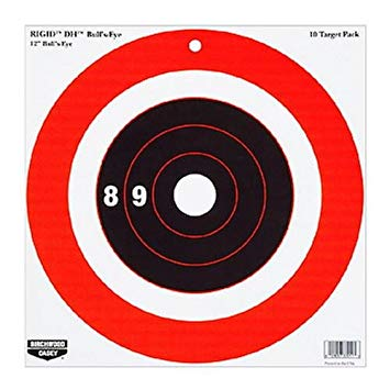 Birchwood Casey Rigid DH Bull's-Eye - 12