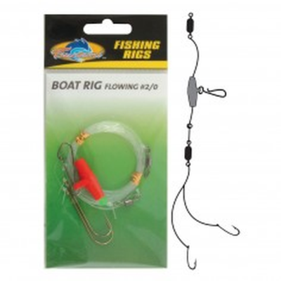 Sea Fishing Tackle - Tsunami Boat Rig Flowing - #2