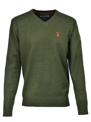 Shooting/Outdoors Percussion Olive Green Hunting Jumper OpenSeason.ie