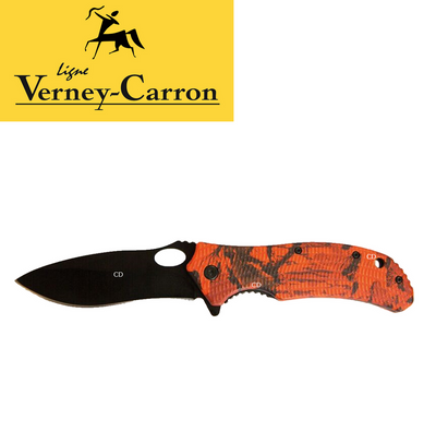 Verney-Carron Ghost Camo Folding Hunting Knife with 9cm Blade