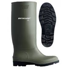 Great Value Wellingtons - Dunlop Pricemaster Green/Black (Adults)