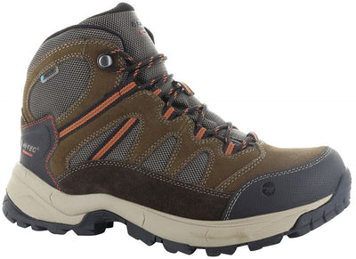 Hi-Tec Bandera Lite Men's Waterproof Hiking Boot  - Chocolate/Brown/Burnt Orange