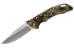 Buck Knife - 286 Bantam BHW Folding Hunting Knife Real Country Camo - Open View