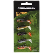 Trout Fishing Tackle - Cormoran Hunky ST Paddle Tail - 5 Piece Mini-Jig Set