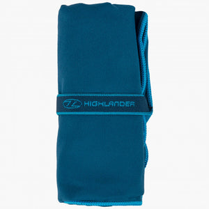 Fibresoft Microfibre Camping Towel - Gym, Hiking, Festivals, Sports - Navy
