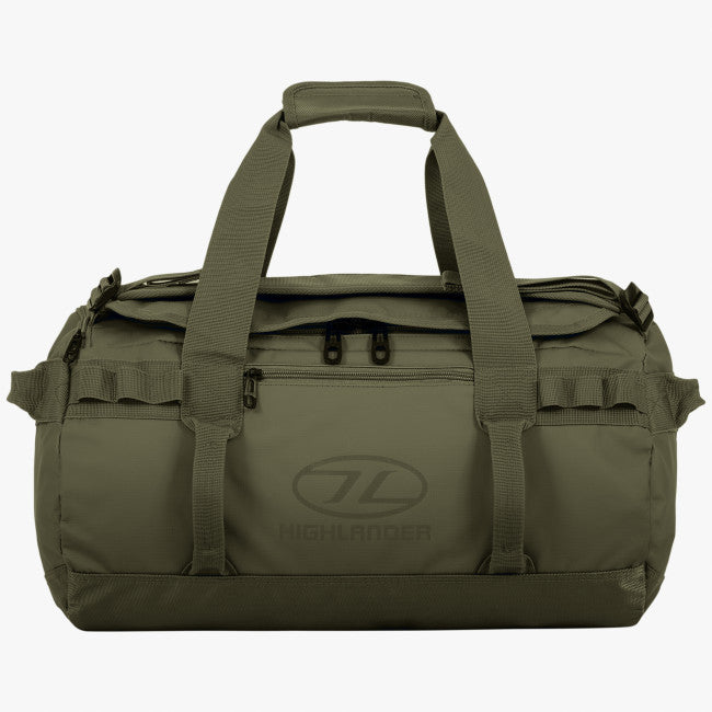 Hiking, Camping and Outdoors Kit Bag Highlander - Storm - Olive Green