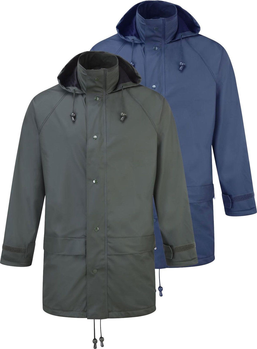 Rain Jacket - Fortress Fortex Men's - Waterproof, Windproof, Lightweight, Flexible, Silent
