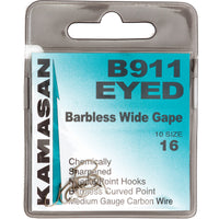 Kamasan Hooks - B911 Barbless Eyed at OpenSeason.ie your tackle store