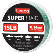 Leeda Superbraid Fishing Braid 15lb