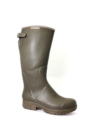 Goodyear Stream Wellingtons - Green - (Adults)