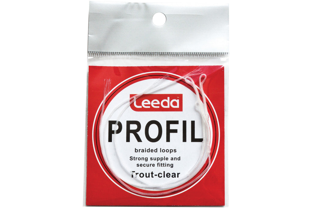 Leeda Clear Braided Trout Angling Loops