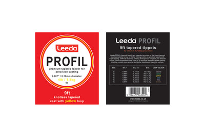 Leeda Profil Knotless Tapered Leader