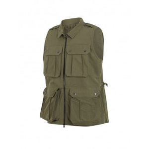 Keela Heritage Country Waistcoat - Olive - Shooting, Fishing, Farming, Outdoors