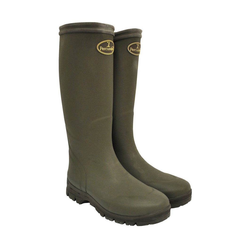 Percussion Marly Wellington Boots - Stalking, Shooting, Fishing, Farming