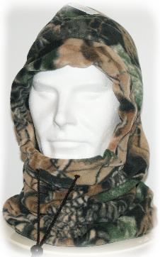 Open Season Fleece Multifunction Balaclava/Neck Warmer/Snood - Realtree Camo