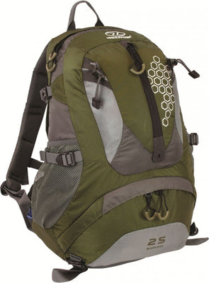 Hiking, Camping and Outdoors Rucksack Highlander Summit 25L Green