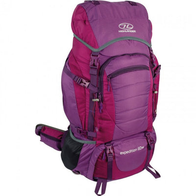 Hiking, Camping & Outdoors 60L Women's Rucksack Highlander Expedition