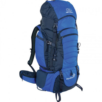 Hiking, Camping and Outdoors 65L & 85L Rucksack Highlander Expedition