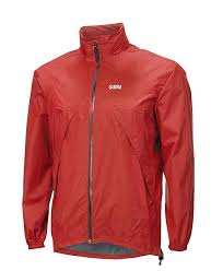 Keela Rain/Outdoor Jacket - Stashaway Pro Lightweight Red