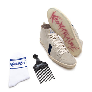 Charger l'image dans la galerie, SAWA SHOES X KOURTRAJME PACK TSAGUE SUEDE BLUE