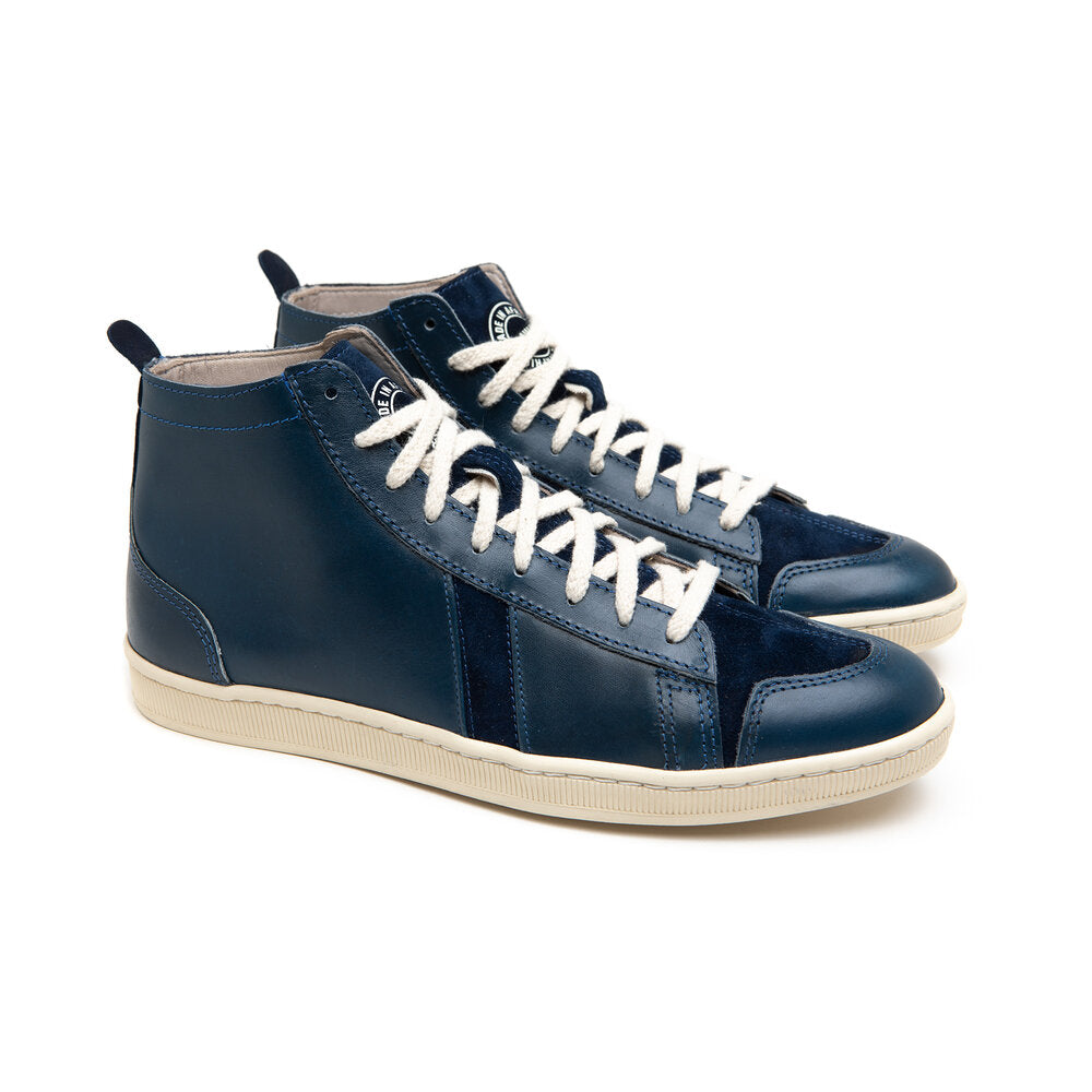 sawa shoes tsague PULL UP BLUE