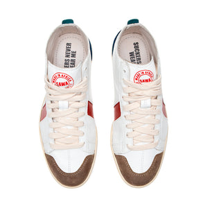 Charger l'image dans la galerie, sawa shoes tsague white RED BLUE