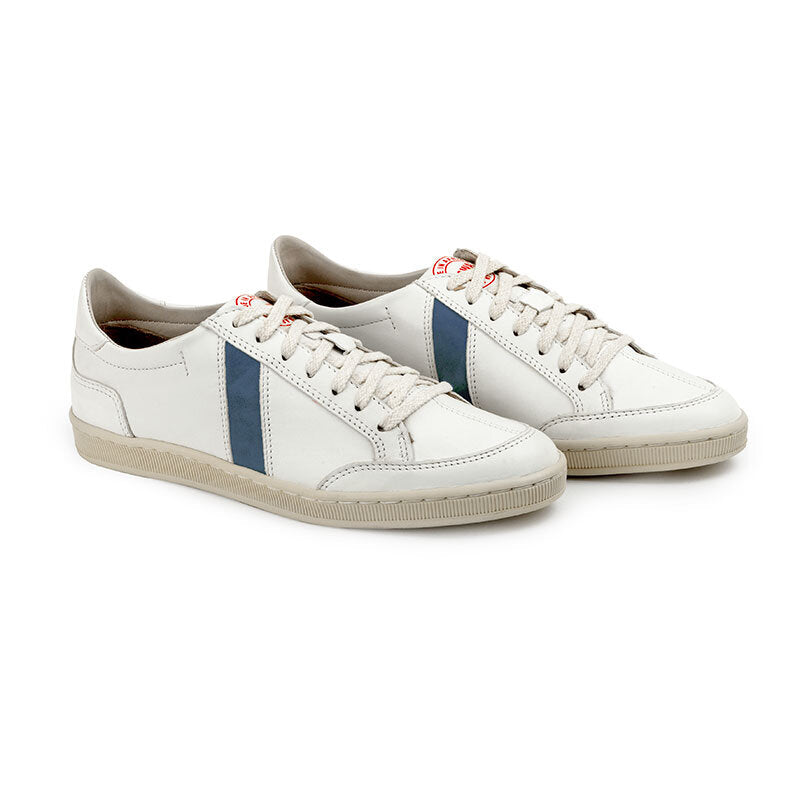 SAWA SHOES LAFRICA LEATHER WHITE CIEL
