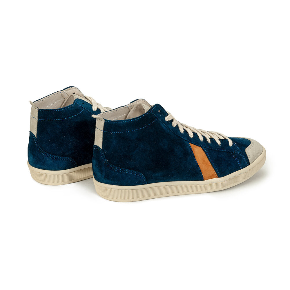 SAWA SHOES TSAGUE BLUE SNUFF WHITE