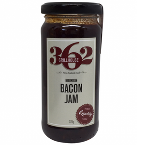 Bourbon Bacon Jam by 362 Grillhouse (9.5 oz)