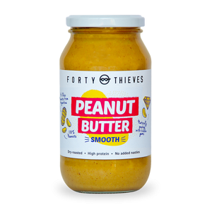 Peanut Butter (Smooth) Jumbo Jar - Forty Thieves (500 ml)