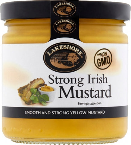 Lakeshore Strong Irish Mustard 200g (7oz)