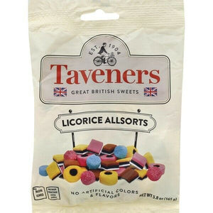 Taveners Licorice Allsorts 165g (5.8oz)