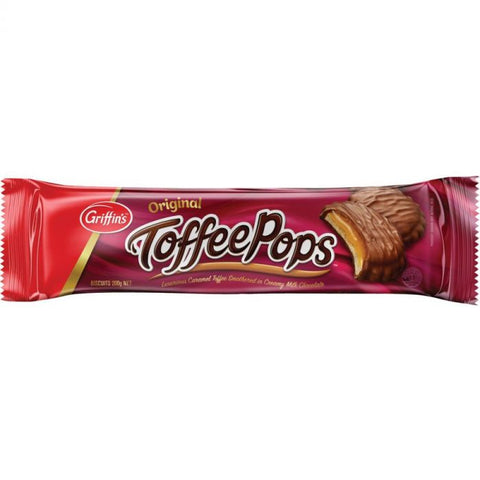 Griffins Toffee Pops Original 200g