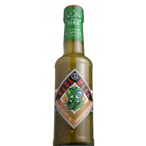 Kiwifruit and Habanero Waha Wera Sauce (150 ml)