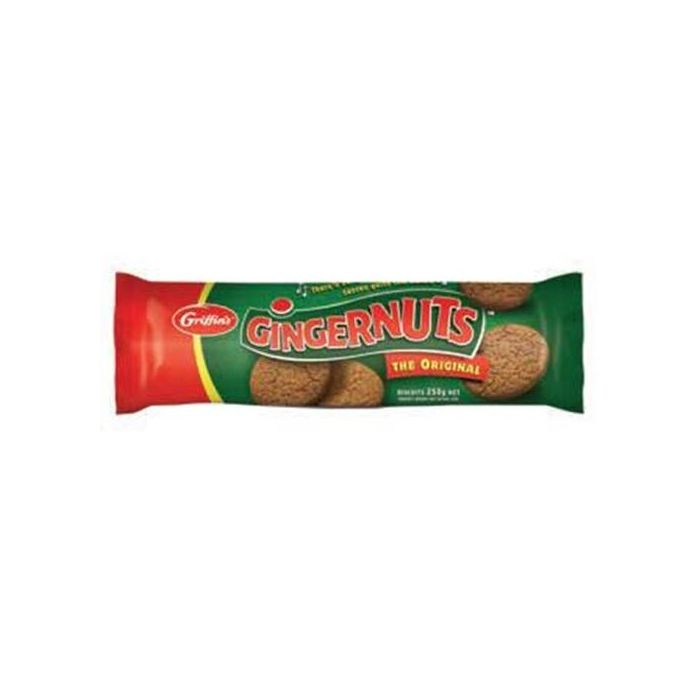 Griffins Gingernuts Biscuits Original 250g