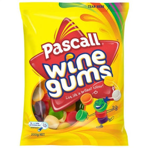Pascall Wine Gums 180g