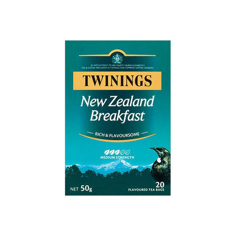 Twinings New Zealand Breakfast Tea Bags 50g 20pk