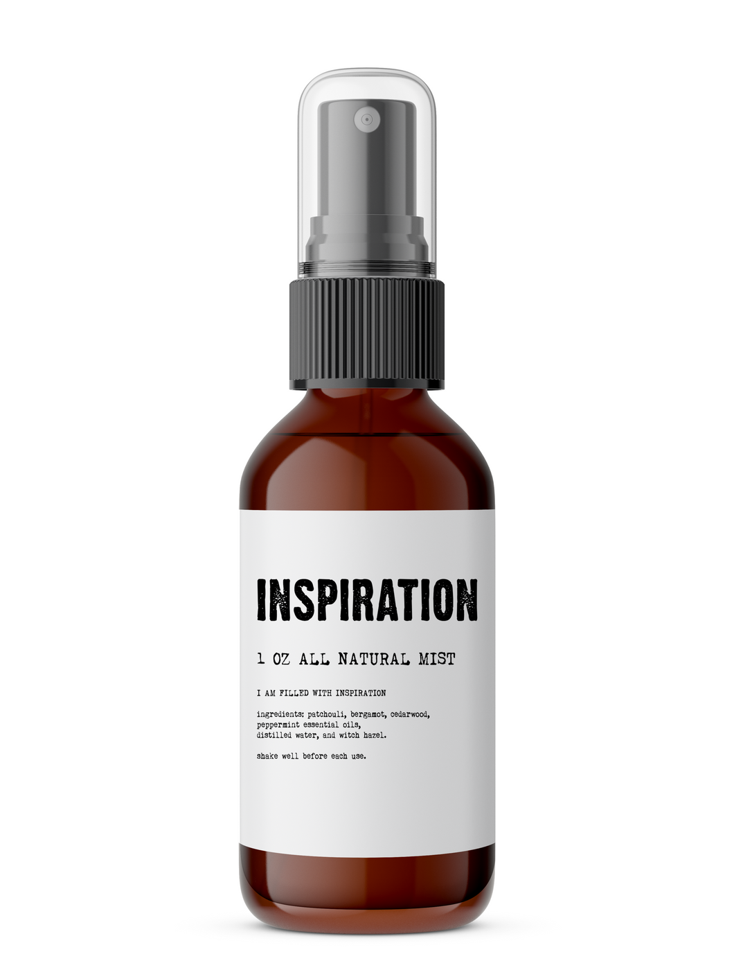 Inspiration - Meditation/Body Mist - Made with All Natural Ingredients
