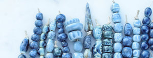 handmade ceramic beads by cindy's art and soul.