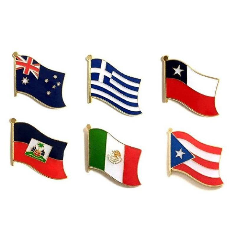 Flag Lapel Pins - 100 Pack