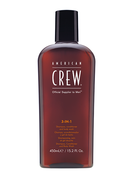 AMERICAN CREW® Classic 3 in 1 Shampoo,Conditioner & Body