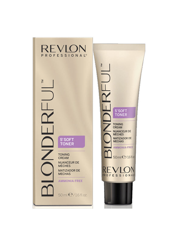 REVLON® BLONDERFUL SOFT TONER CREAM