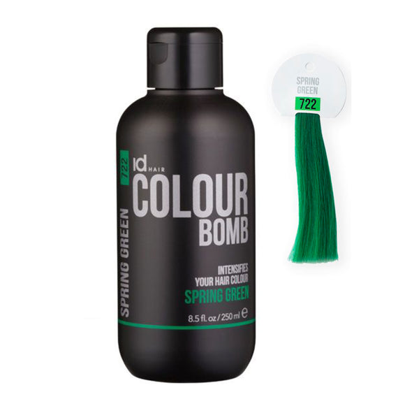 id Hair Colour Bomb Spring Green Nr. 722