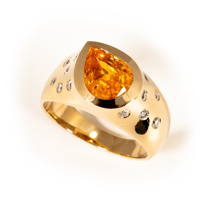 Spessartin Ring
