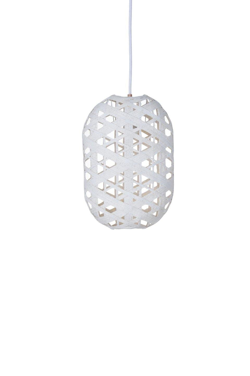 LAMPARA SUSPENSION CAPSULA S BLANCO
