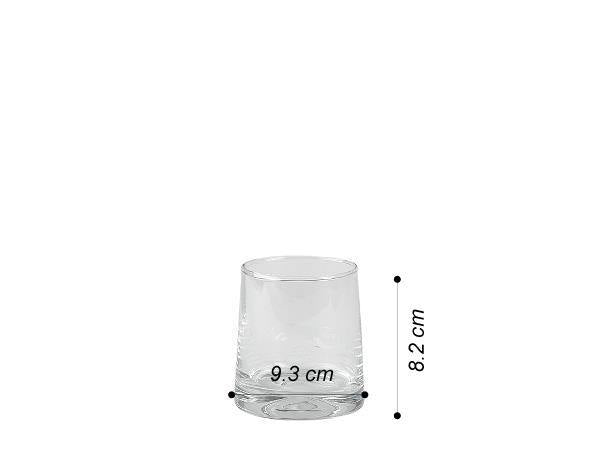SET 4 VASOS BEBIDAS WHISKY