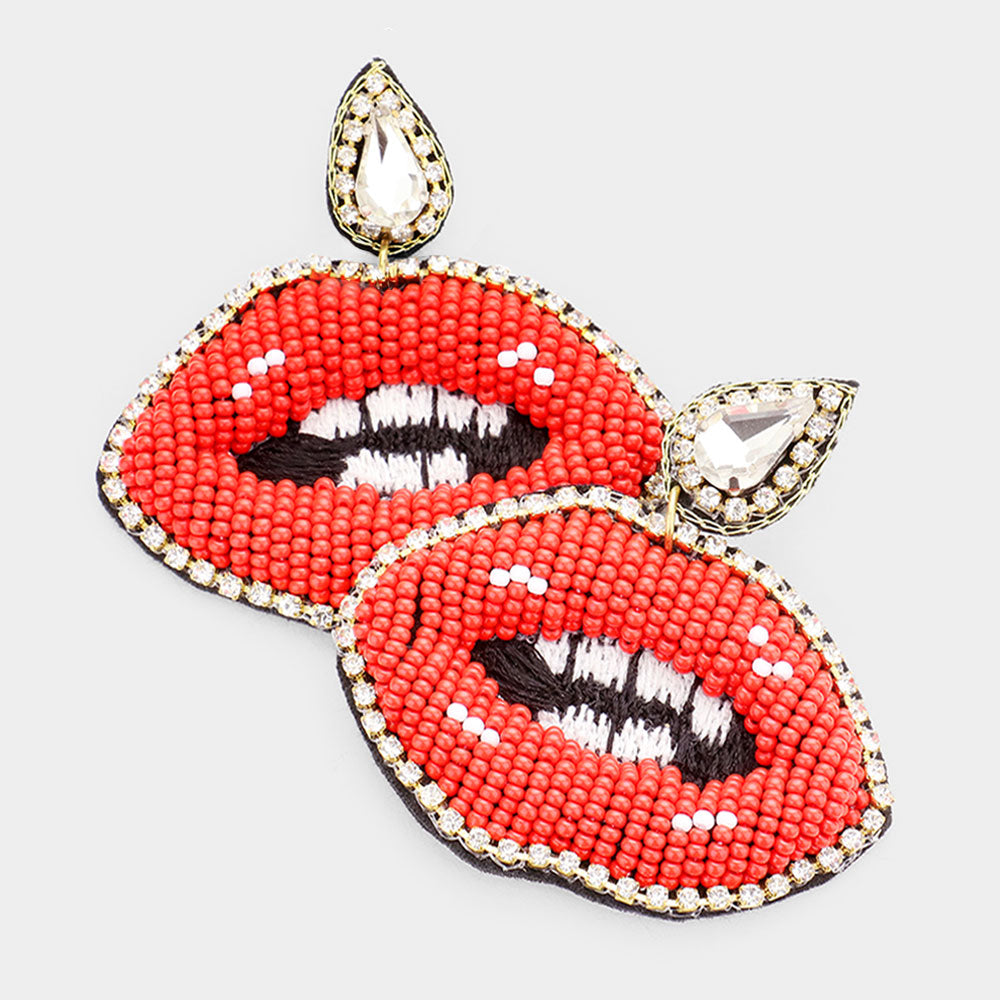 Red Bling Kisses