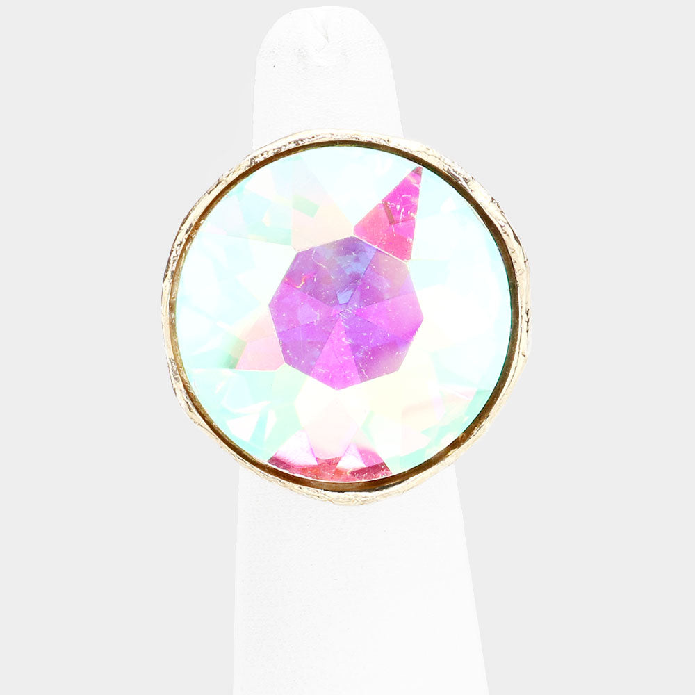 Iridescent Dome Ring